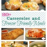 Easy Recipes: Make ahead meals and freezer meals it's a keeper