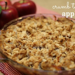 Easy Apple Crumb Pie and a giveaway Easy dessert recipes it's a keeper