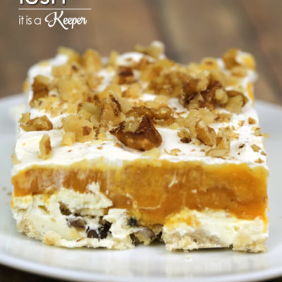 Pumpkin Lush - this easy dessert recipe is easy to make and always a hit