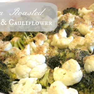 Sicilian Roasted broccoli and cauliflower it's a keeper