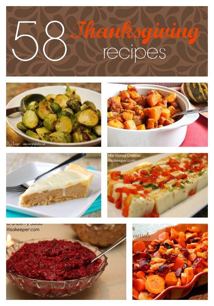 58 Thanksgiving Recipes