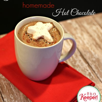 The Best Hot Chocolate Recipe