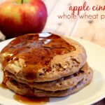Apple Cinnamon Whole Wheat Pancakes on It's a Keeper