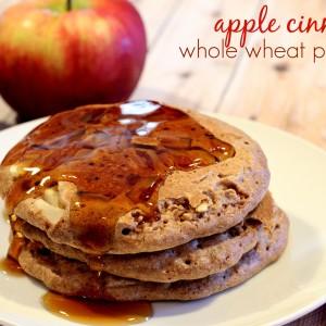Apple Cinnamon Whole Wheat Pancakes on It's a Keeper