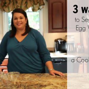 3 Ways to Separate Egg Whites and a Really Cool Trick