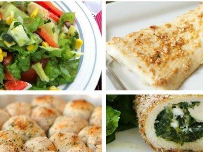 Healthy Dinner Ideas:  50+ Skinny Recipes