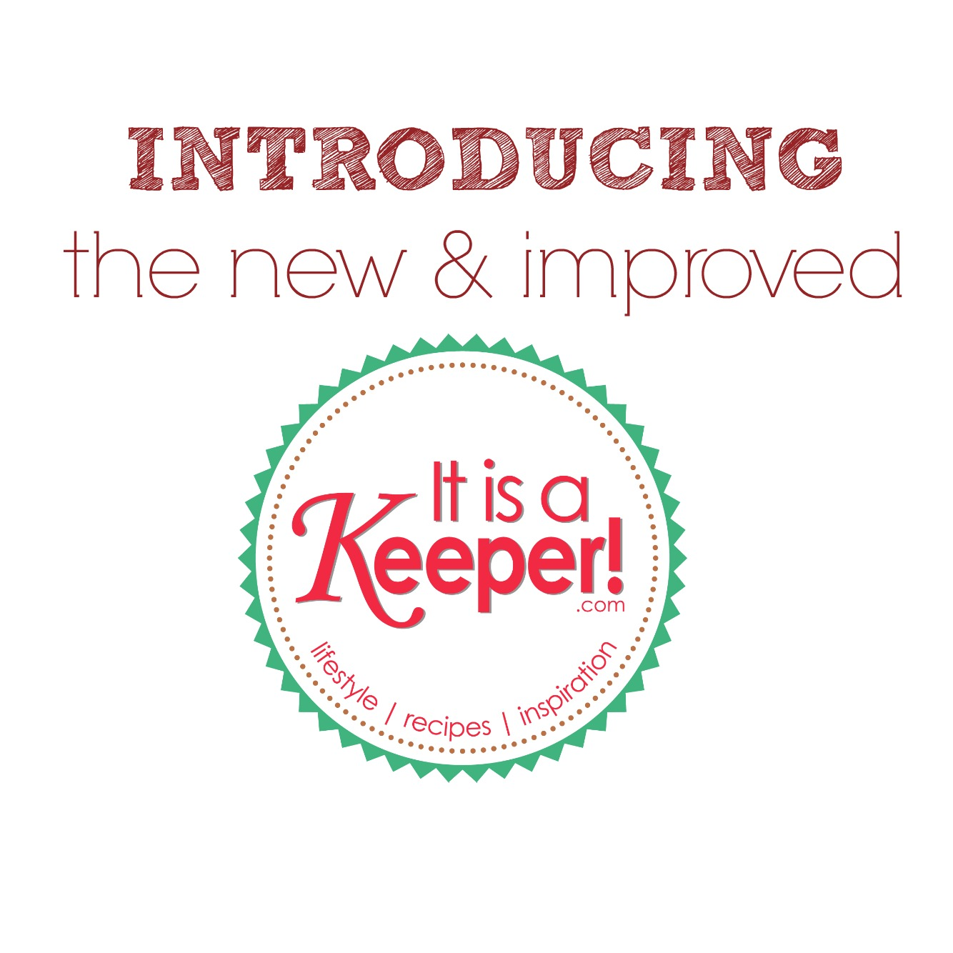 It's a Keeper's New Look!