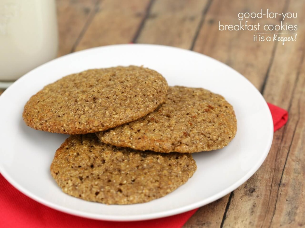Breakfast Cookies – This healthy cookie recipe is an easy, kid friendly breakfast
