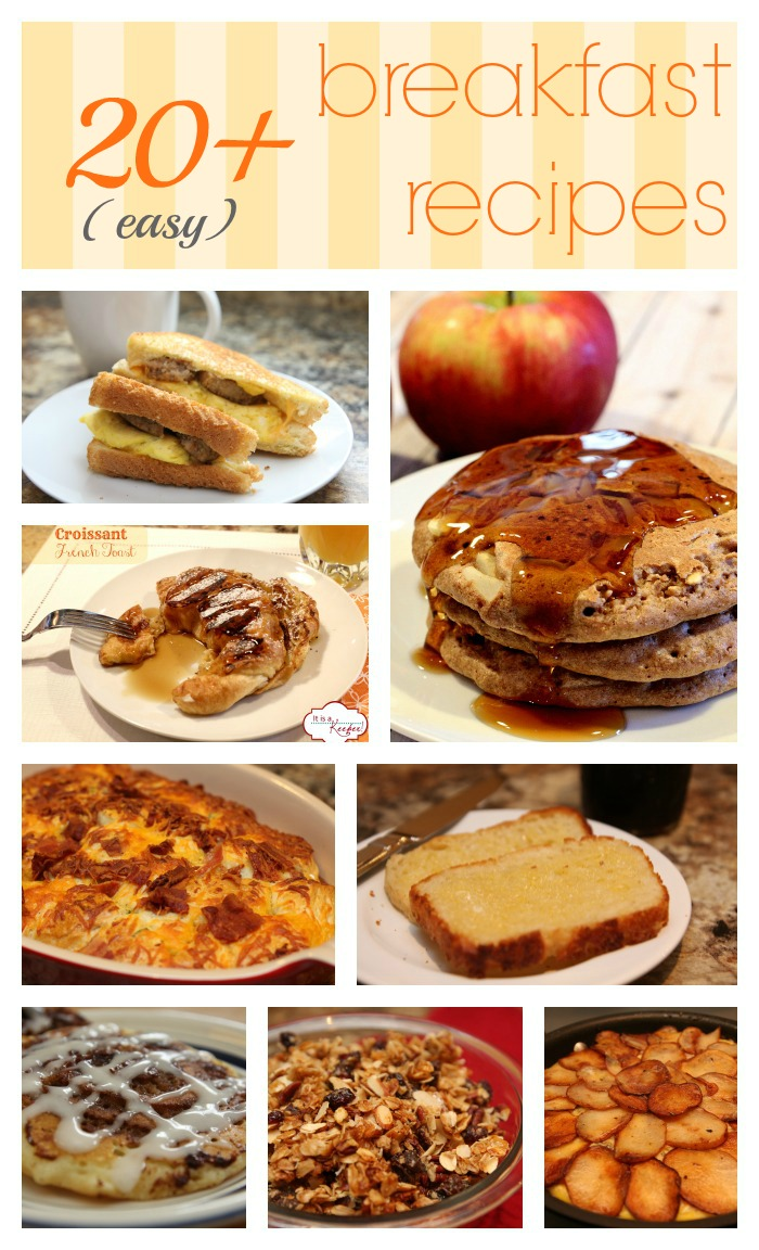 Easy Breakfast Recipes from It's a Keeper