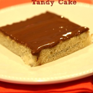 Peanut Butter Tandy Cake Recipe from It's a Keeper