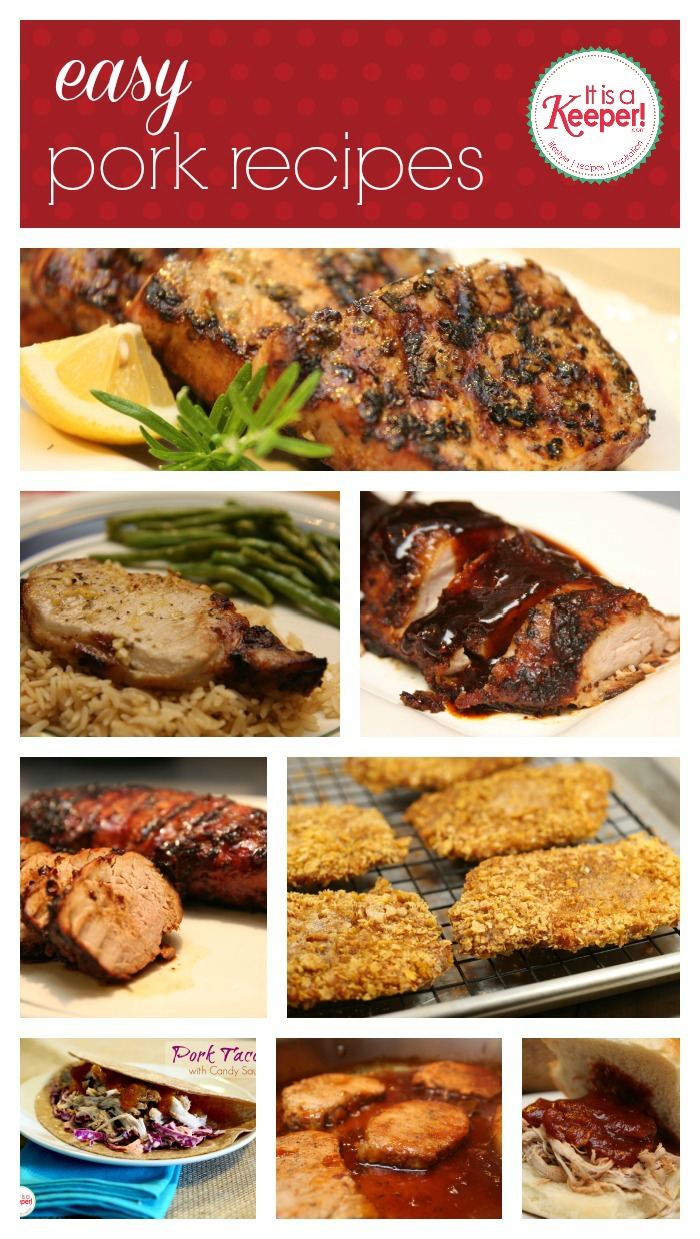 Easy Recipes Pork from It's a Keeper