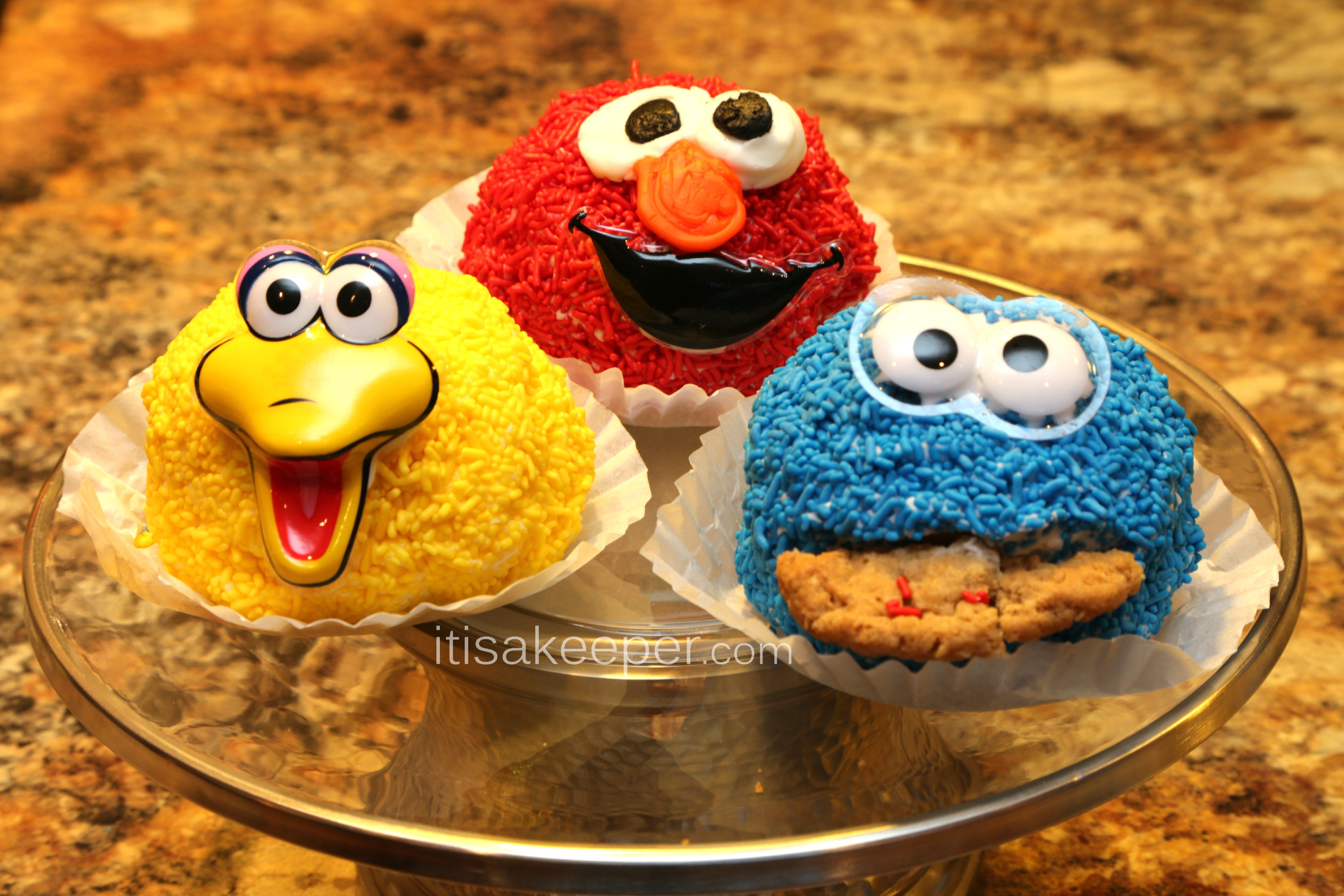 A Sesame Street Party with Bakery Craft Cakes