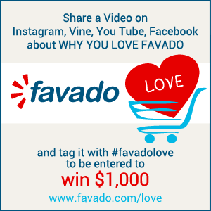 Show Your #favadolove and Be Entered to Win $1,000