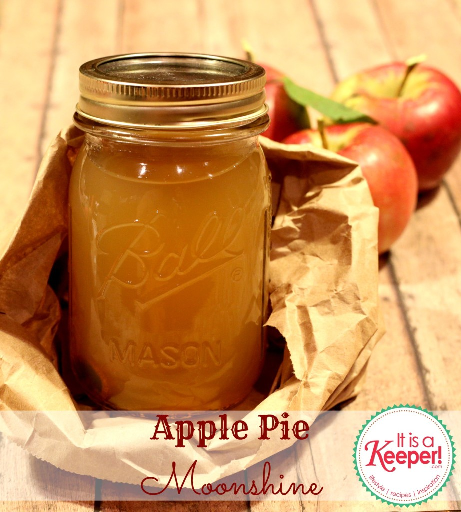 Apple Pie Moonshine It's a Keeper