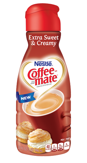 Coffee-mate NEW Extra Sweet & Creamy