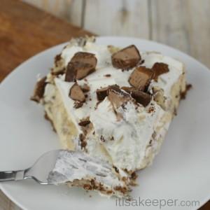 Easy Dessert Recipe No Bake Caramel Pie from It's a Keeper