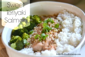 Easy Salmon Recipes Sweet Teriyaki Salmon