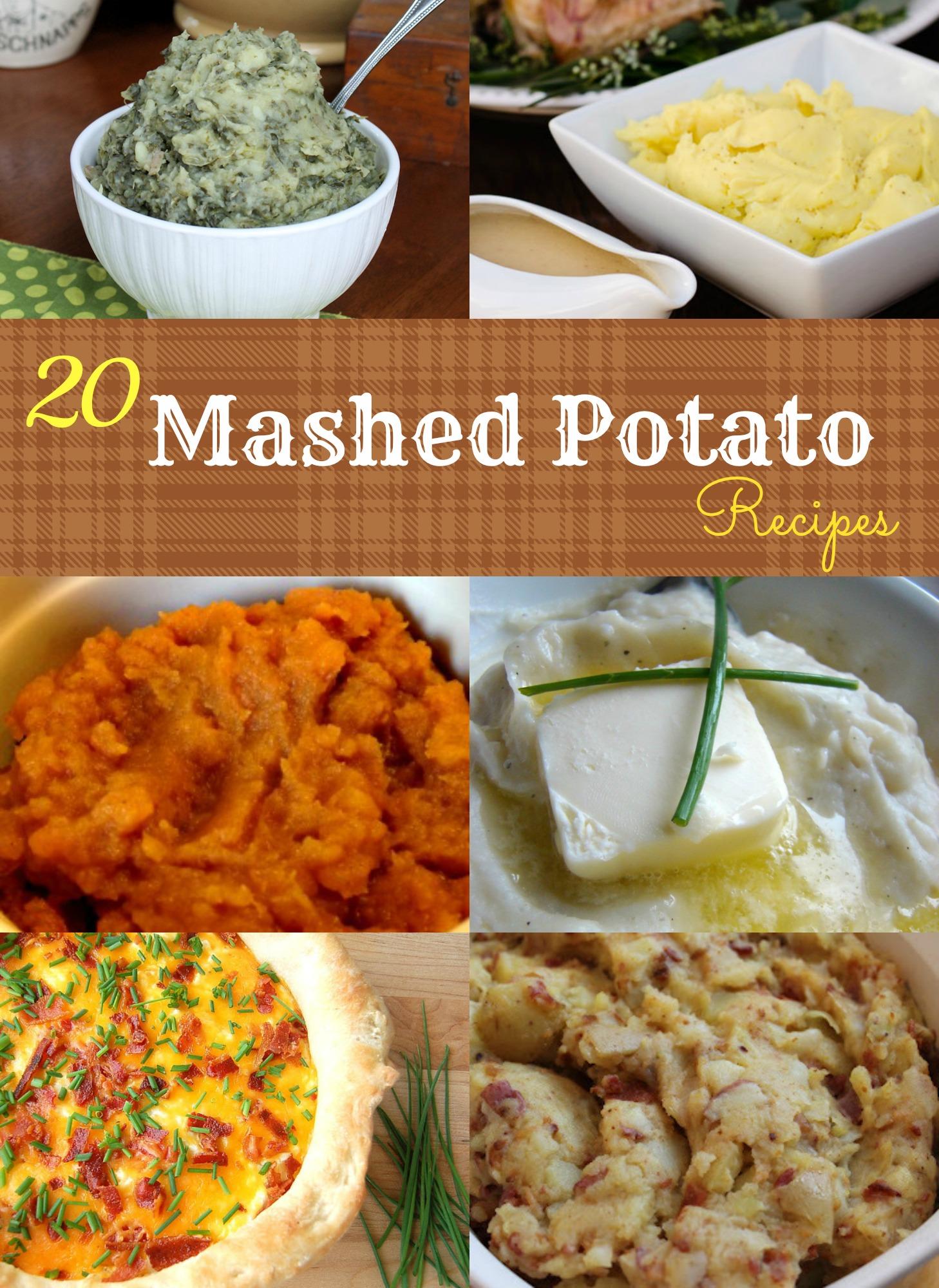 20 Mashed Potato Recipes
