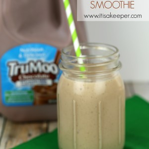 Chocolate Peanut Butter Banana Smoothie from It's a Keeper