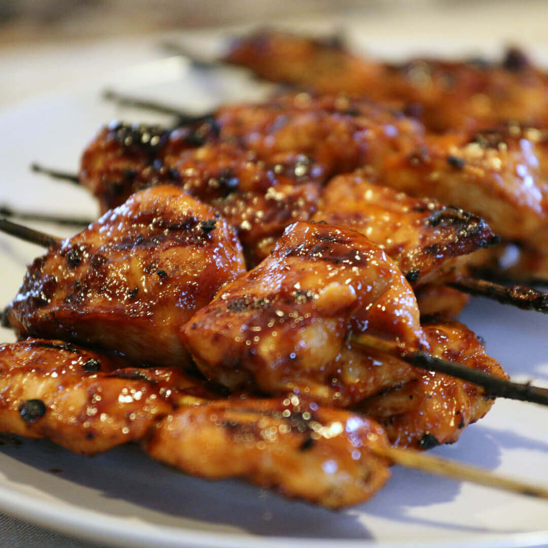 How long do i grill chicken kabobs - Grilled Sticky Chicken Skewers Whenever I Make These People Beg For The Recipe