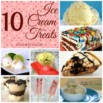 10 Ice Cream and Frozen Treat Recipes