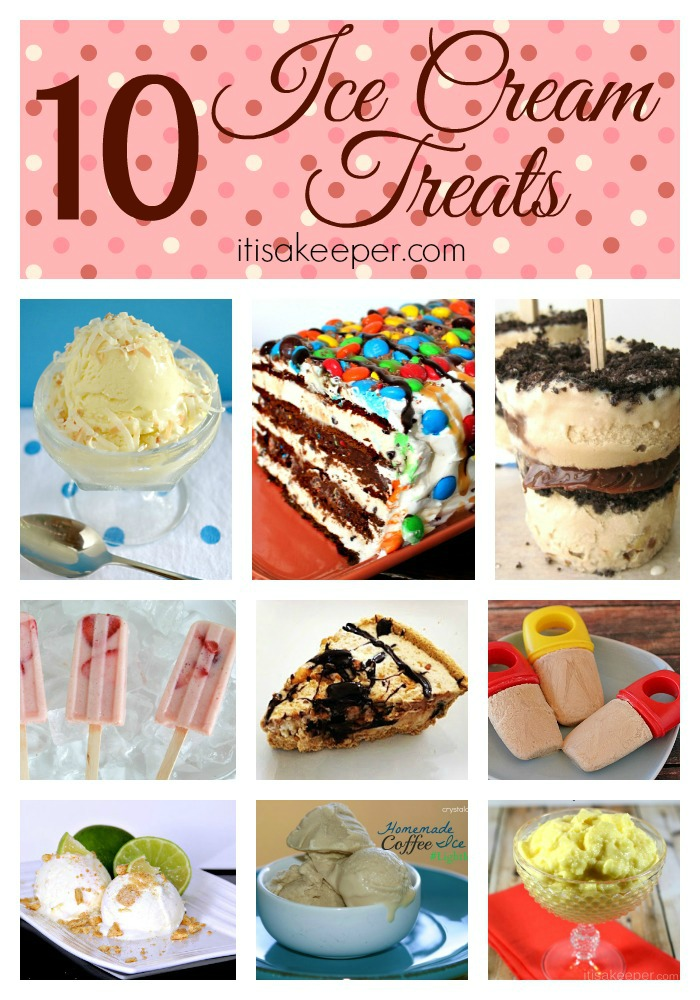 10 Ice Cream Treats as seen on It's a Keeper