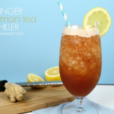 Ginger Lemon Iced Tea Chiller