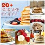 Easy Breakfast Recipes: 20+ Pancake Recipes ~ www.itisakeeper.com