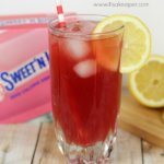 Skinny Pomegranate Lemonade
