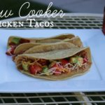 Easy Slow Cooker recipes Slow Cooker Chicken Tacos