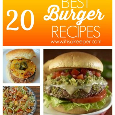 20 Best Burger Recipes