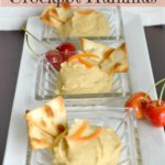 Homemade Crockpot Hummus