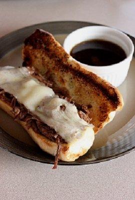Summer Crock Pot French Dip Sandwiches