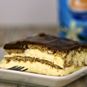 No Bake Desserts Chocolate Eclair Cake
