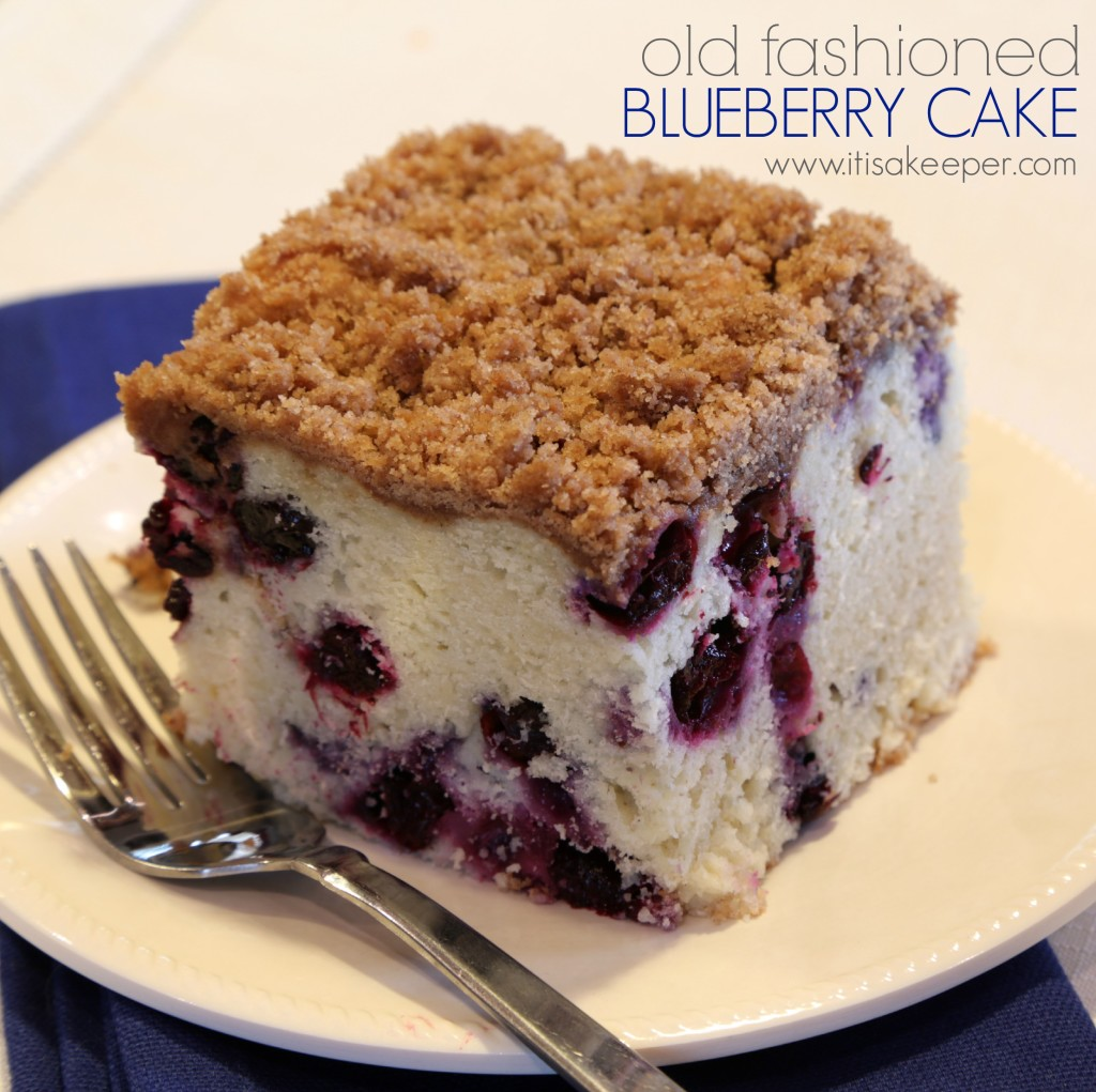 This Old Fashioned Blueberry Cake is one of my most cherished recipes. It's been in my family for years!