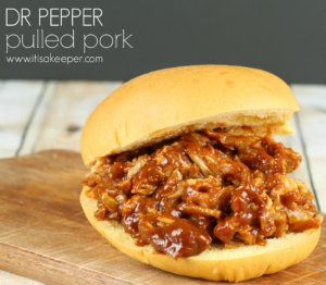 Slow Cooker Summer Recipes Dr Pepper Pulled Pork ~ www.itisakeeper.com