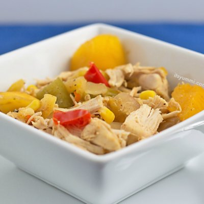 Sweet 'n Spicy Slow Cooker Mango Chicken