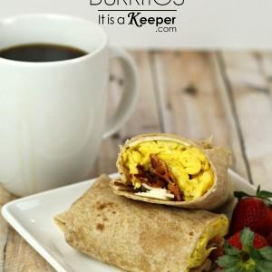Easy Breakfast Recipes Breakfast Burritos - It's a Keeper