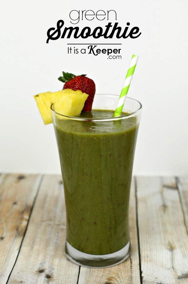 Easy Green Smoothie - It's a Keeper