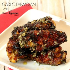 Garlic Parmesan Wings - It's a Keeper