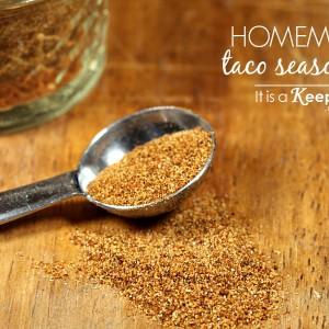 Homemade Taco Seasoning - It's a Keeper