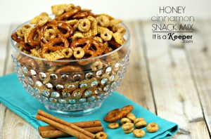 Honey Cinnamon Snack Mix - It's a Keeper