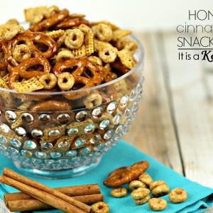 Honey Cinnamon Snack Mix - It's a Keeper
