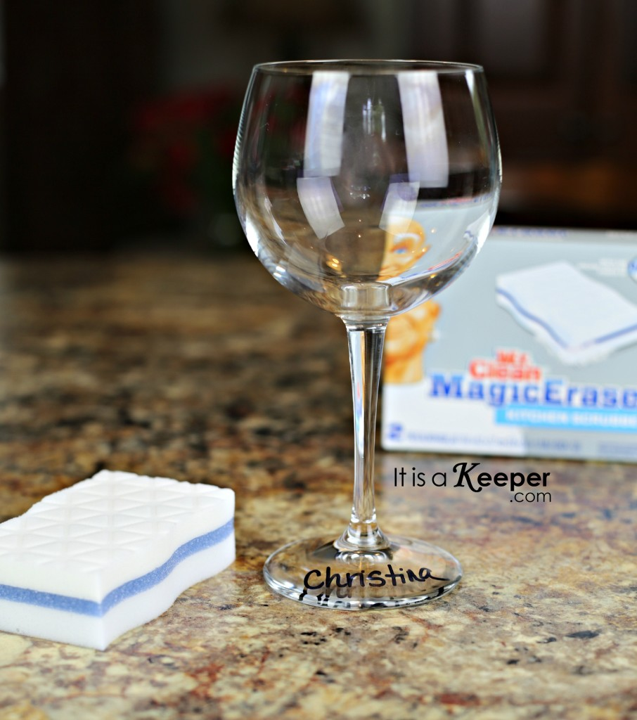 Mr Clean Magic Eraser Glass