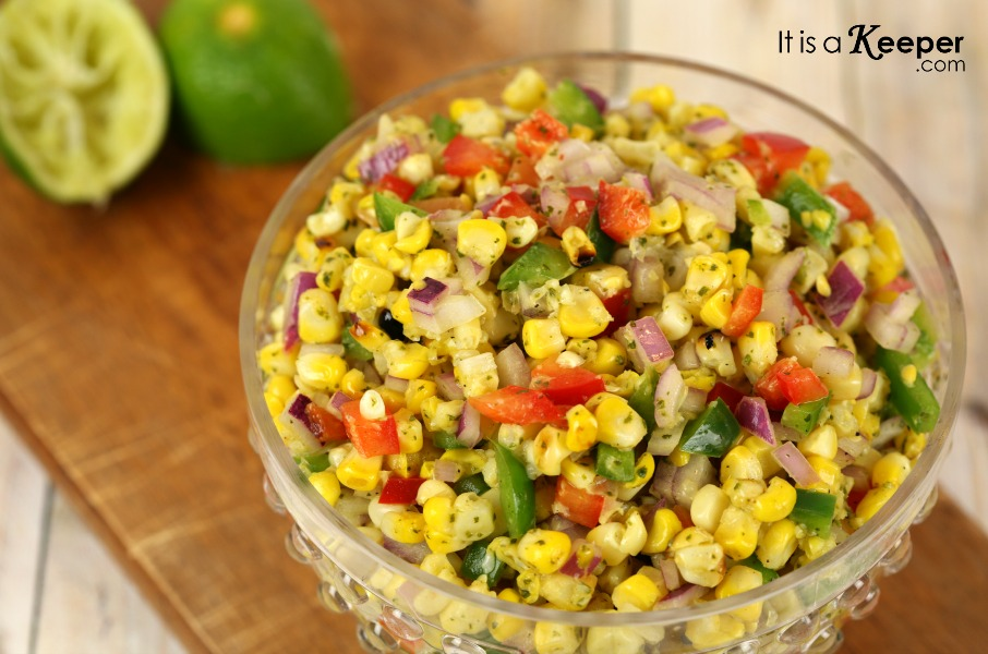 Grilled Corn Salad - It's a Keeper