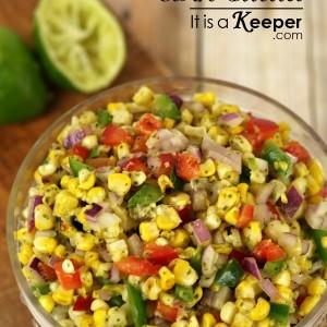 Grilled Corn Salad - It's a Keeper