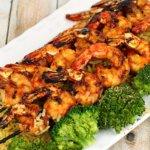 Grilled Sticky Shrimp