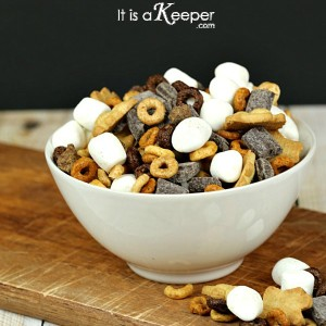 S'mores Snack Mix - It's a Keeper