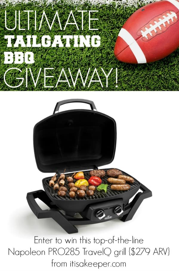 Ultimate Tailgating BBQ Giveaway - It's a Keeper