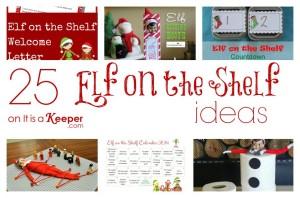 Elf on a Shelf Ideas - It Is a Keeper